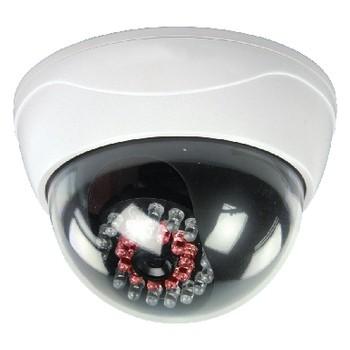 Zabezpečovací systém Atrapa CCTV kopulovité kamery s 25 IR LED (SAS-DUMMYCAM95)