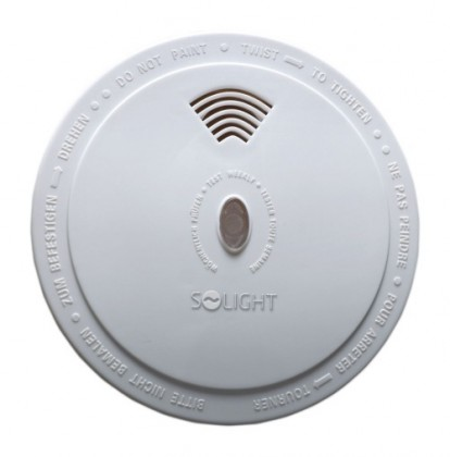 Zabezpečovací systém Detektro spalin CO