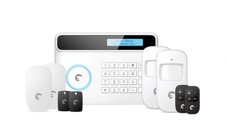 Zabezpečovací systém eTiger S4 Combo Secual Sim-bezdrôtový bezpečnostný systém s GSM