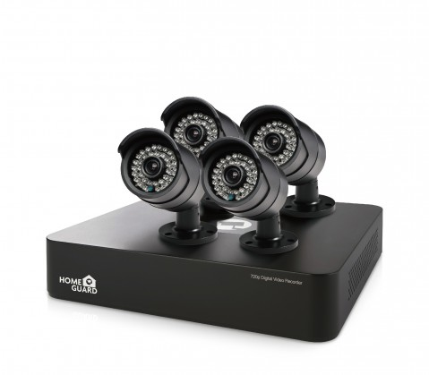 Zabezpečovací systém iGET HGDVK46704 - CCTV 4CH DVR + 4xHD kamera 720p