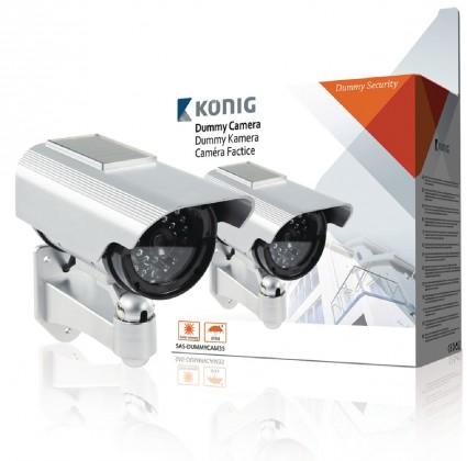 Zabezpečovací systém Kamera vonkajšia atrapa, solar (SAS-DUMMYCAM35)