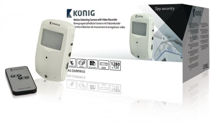 Zabezpečovací systém König SAS-DVRPIR10
