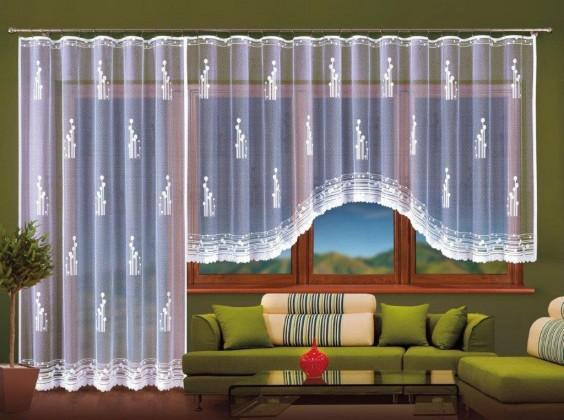 Záclona Amadea (400x160 + 200x250)