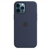 Zadný kryt na Apple iPhone 12 Pro Max, modrý