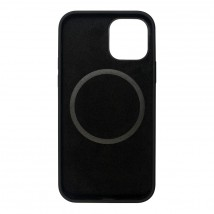 Zadný kryt na iPhone 12/12 Pro, čierny