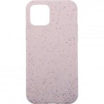 Zadný kryt na iPhone 12/12 Pro, ECO 100% compostable, béžový