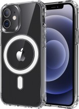 Zadný kryt na iPhone 12/12 Pro, priehľadný