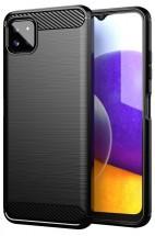 Zadný kryt na Samsung Galaxy A22 5G, čierny