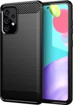 Zadný kryt na Samsung Galaxy A52 5G, A52, čierny