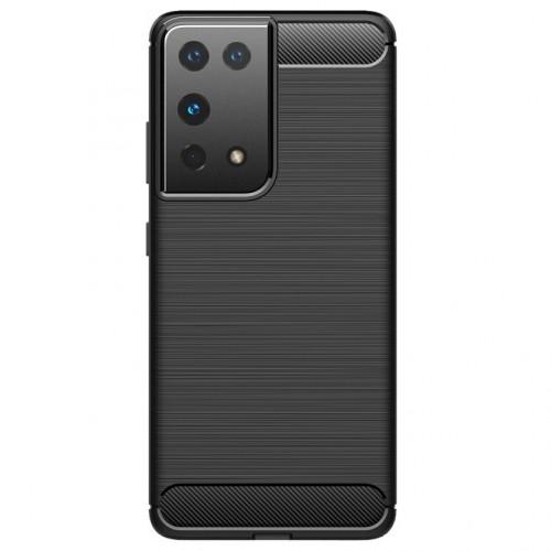 Zadný kryt na Samsung S21 Ultra 5G, čierny