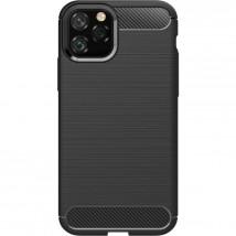 Zadný kryt pre Apple iPhone 11 Pro Max, karbón, čierna