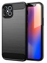"""Zadný kryt pre Apple iPhone 12, 5,4"""", Carbon, čierna"""