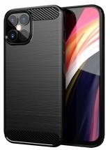 "Zadný kryt pre Apple iPhone 12 Pro Max, 6,7"", Carbon, čierna"