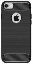 Zadný kryt pre Apple iPhone 7/8, karbón, čierna