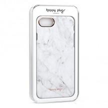 Zadný kryt pre Apple iPhone 7/8 slim, mramorová biela