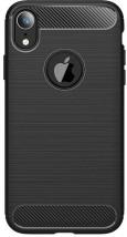 Zadný kryt pre Apple iPhone XS MAX, karbón, čierna ROZBALENÉ