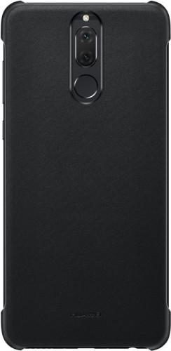 Zadný kryt pre Huawei Mate 10 Lite, imitácia kože, čierna