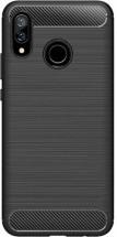 Zadný kryt pre Huawei NOVA 3, karbón, čierna