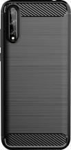 Zadný kryt pre Huawei P Smart 2020, Carbon, čierna POŠKODENÝ OBAL