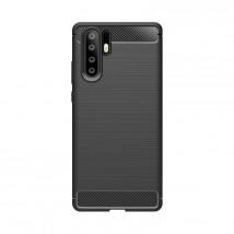 Zadný kryt pre Huawei P30 PRO, karbón, čierna