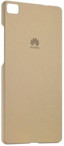 Zadný kryt pre Huawei P8 Lite, originál, hnedá