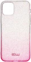 Zadný kryt pre iPhone 11, Rainbow, ružovo/strieborná