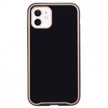 Zadný kryt pre iPhone 12/12 Pro, čierna
