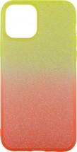 Zadný kryt pre iPhone 12/12 Pro, Rainbow, oranžovo/žltá