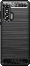 Zadný kryt pre Motorola Edge Plus, Carbon, čierna