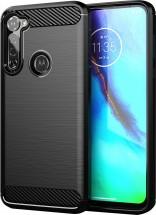 Zadný kryt pre Motorola G Pro, Carbon, čierna POUŽITÉ, NEOPOTREBO