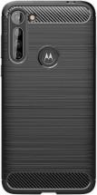Zadný kryt pre Motorola Moto G8 Power Lite, Carbon, čierna