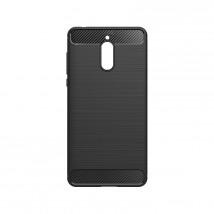 Zadný kryt pre Nokia 3.1, karbón, čierna