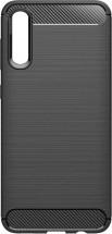 Zadný kryt pre Samsung A70, carbon, čierna