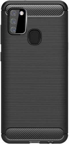 Zadný kryt pre Samsung Galaxy A21s, Carbon, čierna