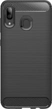 Zadný kryt pre Samsung Galaxy A40, karbón, čierna
