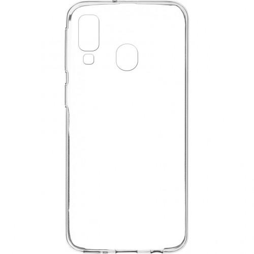 Zadný kryt pre Samsung Galaxy A40, slim, priehľadná