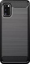 Zadný kryt pre Samsung Galaxy A41, Carbon, čierna