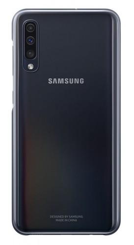 Zadný kryt pre Samsung Galaxy A50, Gradation, čierna