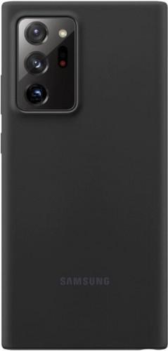 Zadný kryt pre Samsung Galaxy Note 20 Ultra, silikón, čierna