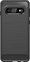 Zadný kryt pre Samsung Galaxy S10e, karbón, čierna