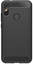 Zadný kryt pre Xiaomi Mi A2 LITE, karbón, čierna