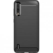 Zadný kryt pre Xiaomi Mi A3, karbón, čierna