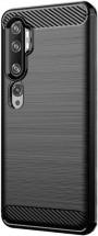 Zadný kryt pre Xiaomi Mi Note 10 Lite, Carbon, čierna