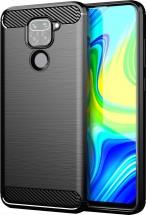 Zadný kryt pre Xiaomi Redmi Note 9, Carbon, čierna