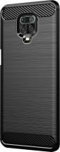 Zadný kryt pre Xiaomi Redmi Note 9 Pro, Carbon, čierna