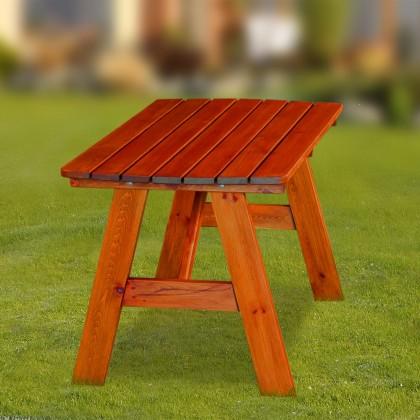 Záhradný stôl Cordoba - Stôl (mahagón)