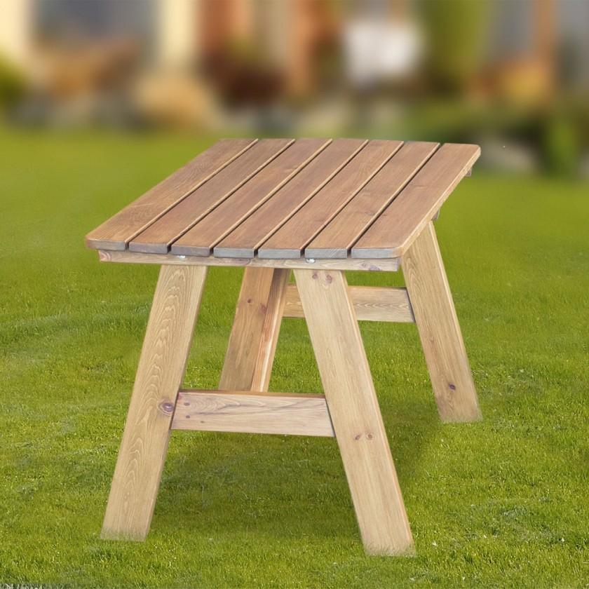 Záhradný stôl Cordoba - Stôl (prírodné bez povrchovej úpravy)