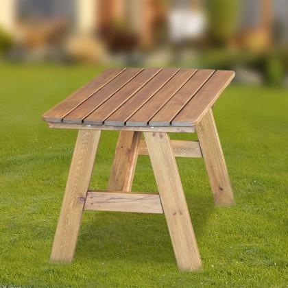 Záhradný stôl Cordoba - Stôl (prírodný - bezfarebne impregnované)