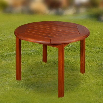 Záhradný stôl Leny - Stôl (mahagón)