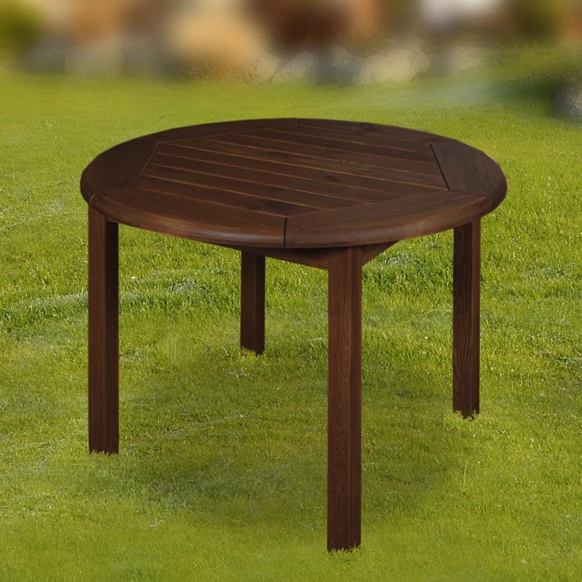 Záhradný stôl Leny - Stôl (orech)